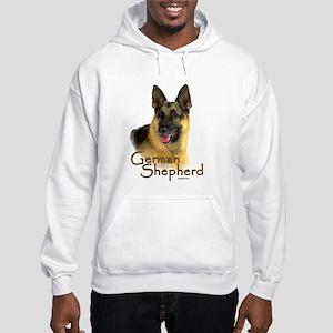 German Shepherd Dog-2 Hooded Sweatshirt