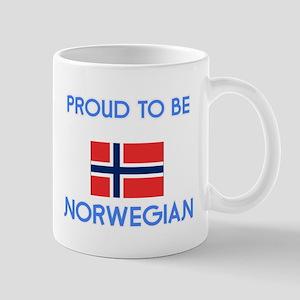 Proud to be Norwegian Mugs