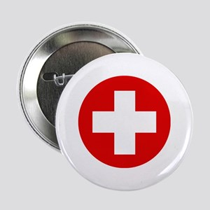 "First Aid Kit 2.25"" Button"