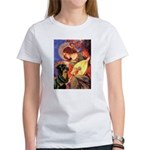 Mandolin Angel/Rottweiler Women's T-Shirt