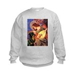 Mandolin Angel/Rottweiler Kids Sweatshirt
