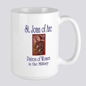 St. Joan of Arc Large Mug