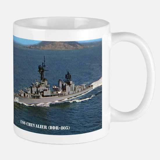 chevalier ddr postcard Stainless Steel Travel Mugs