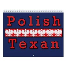 Polish Texan Wall Calendar