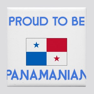 Proud to be Panamanian Tile Coaster