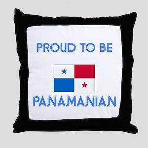 Proud to be Panamanian Throw Pillow
