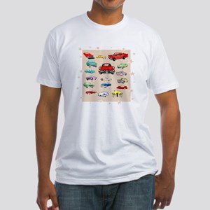 Classic Cars Fitted T-Shirt