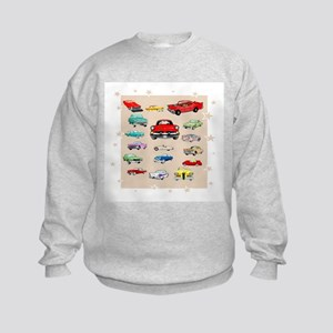 Classic Cars Kids Sweatshirt