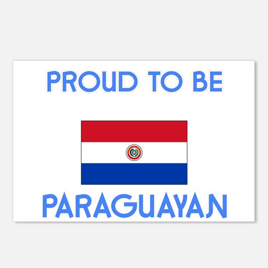 Proud to be Paraguayan Postcards (Package of 8)