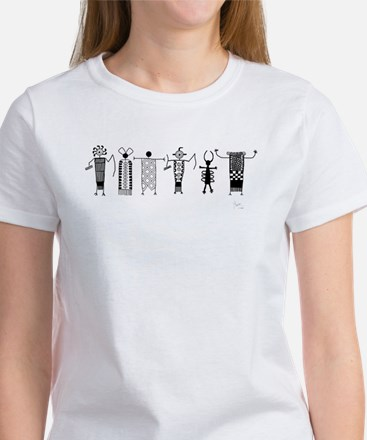 Group of Petroglyph Peoples Women's T-Shirt