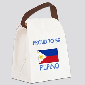 Proud to be Filipino Canvas Lunch Bag