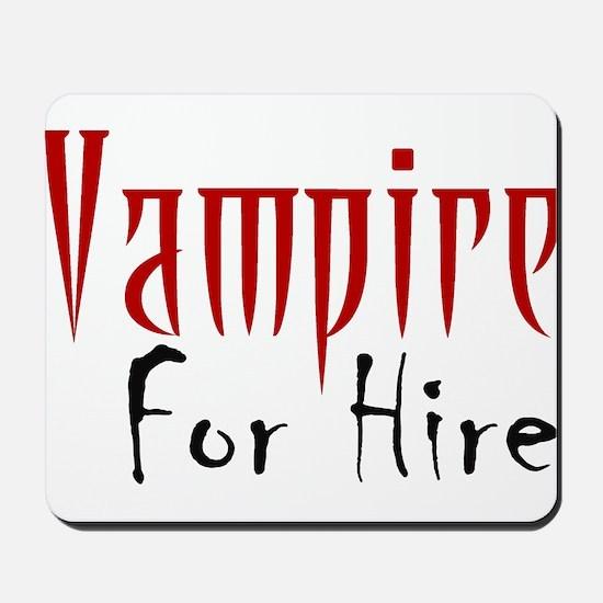 Vampire Nightlife Mousepad
