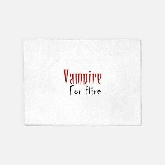 Vampire Nightlife 5'x7'Area Rug