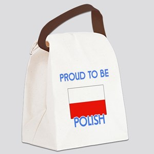 Proud to be Polish Canvas Lunch Bag