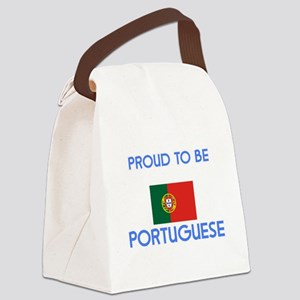 Proud to be Portuguese Canvas Lunch Bag