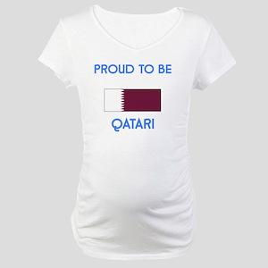Proud to be Qatari Maternity T-Shirt