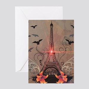 The Eiffel Tower Greeting Cards