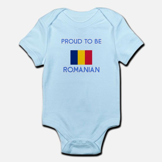 Proud to be Romanian Body Suit