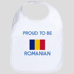 Proud to be Romanian Baby Bib