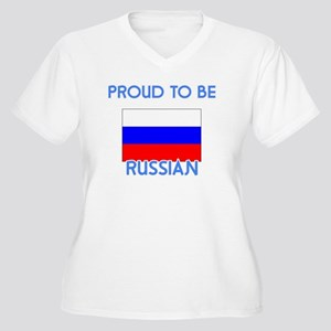 Proud to be Russian Plus Size T-Shirt