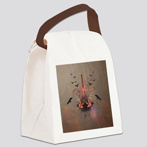 The Eiffel Tower Canvas Lunch Bag