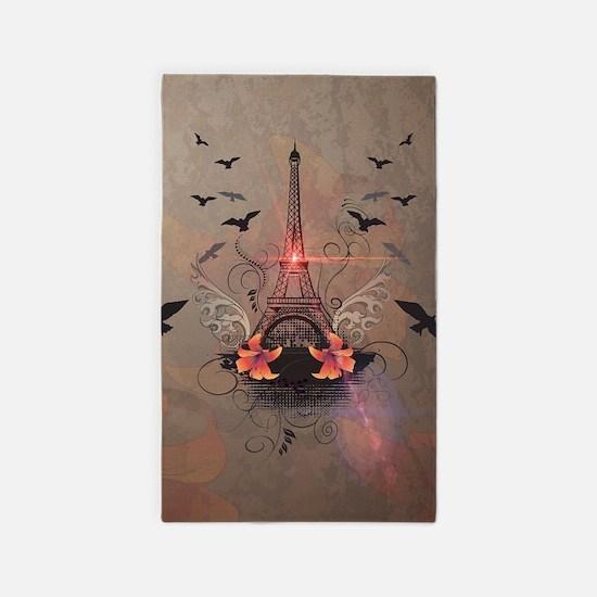 The Eiffel Tower Area Rug