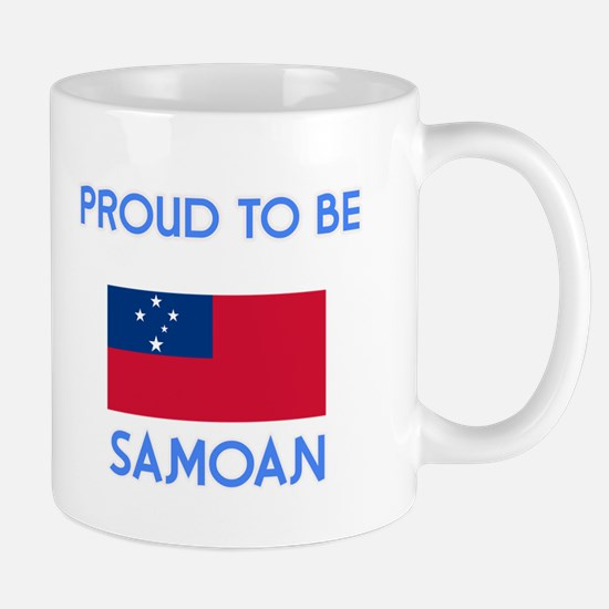 Proud to be Samoan Mugs
