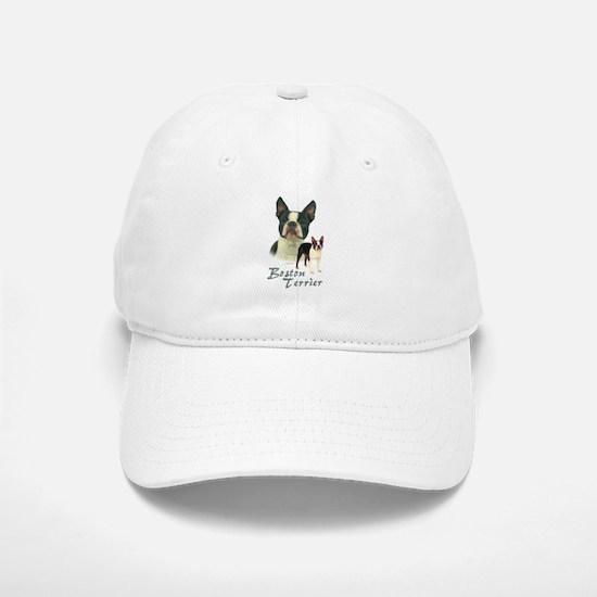 Boston Terrier-2 Baseball Baseball Cap
