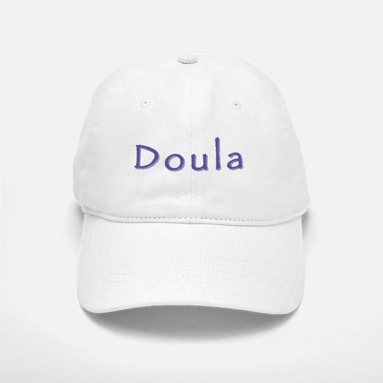 Doula white/purple Baseball Baseball Cap