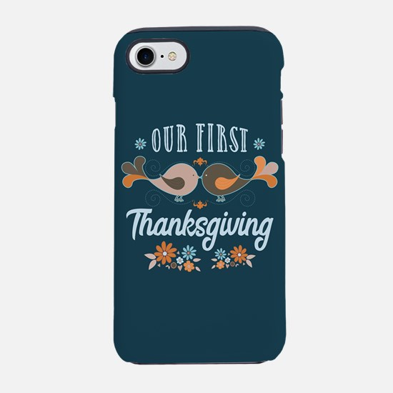 Our First Thanksgiving iPhone 7 Tough Case