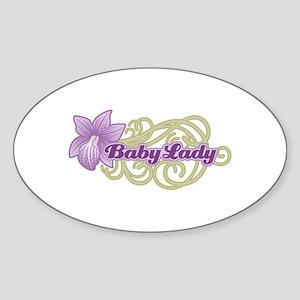 BabyLay Paraphernalia Oval Sticker