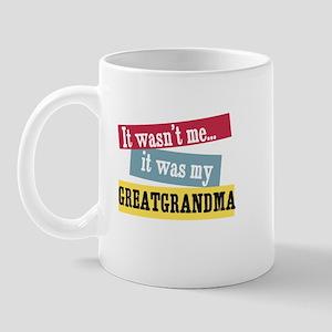 Greatgrandma Mug