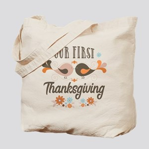 Our First Thanksgiving Tote Bag