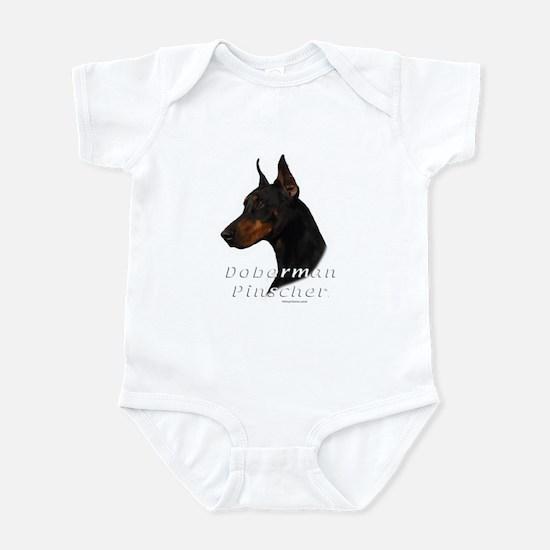 Doberman Pincher-2 Infant Bodysuit