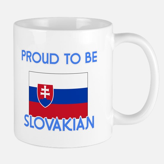 Proud to be Slovakian Mugs