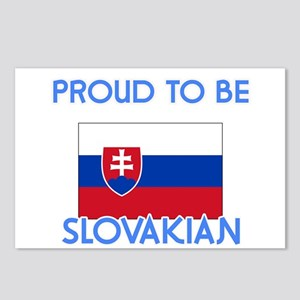 Proud to be Slovakian Postcards (Package of 8)