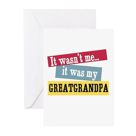 Greatgrandpa Greeting Cards (Pk of 10)