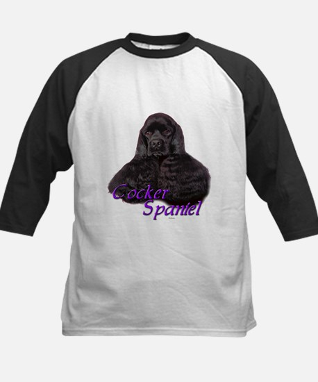 Cocker Spaniel-3 Kids Baseball Jersey