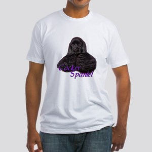 Cocker Spaniel-3 Fitted T-Shirt