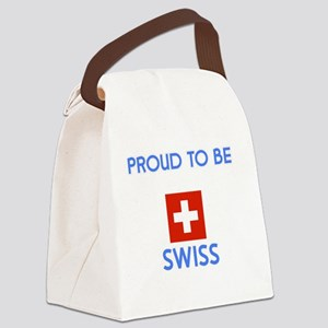 Proud to be Swiss Canvas Lunch Bag