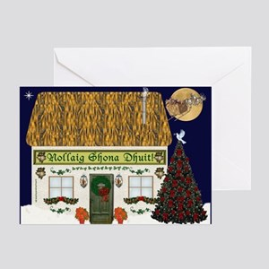 Merry Christmas (Gaelic) Cards (Pk of 20)