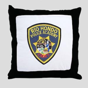 Rio Hondo Police Academy Throw Pillow