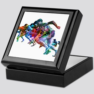 Super Crayon Colored Sprinters Keepsake Box