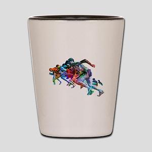 Super Crayon Colored Sprinters Shot Glass