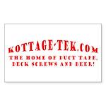 Kottage-Tek.com Red Sticker