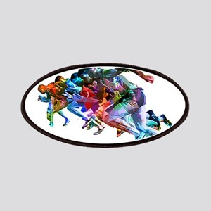 Super Crayon Colored Sprinters Patch