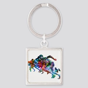 Super Crayon Colored Sprinters Keychains