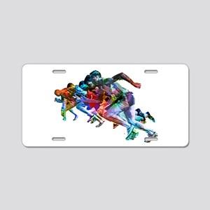 Super Crayon Colored Sprint Aluminum License Plate