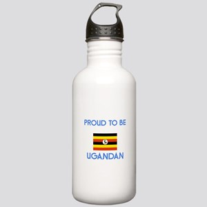 Proud to be Ugandan Stainless Water Bottle 1.0L