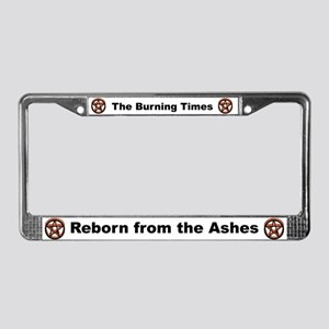 Pentagram License Plate Frame